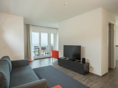 """Photo for Brand New Apartment """"Am See - Säntis"""" Directly by Lake Constance with Lake View, Mountain View, Balcony & Wi-Fi; Parking Available"""