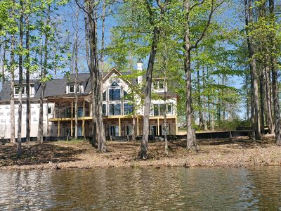 Photo for Brand New 5 Bedroom, 5 1/2 Bathroom Lake Front Home with Big Water Views
