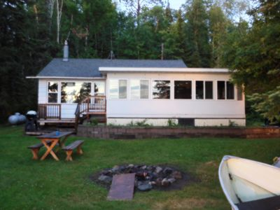 Photo for Secluded Northwoods Cabin on Pelican Lake ***RENTAL BOAT OPTIONAL--ASK OWNER