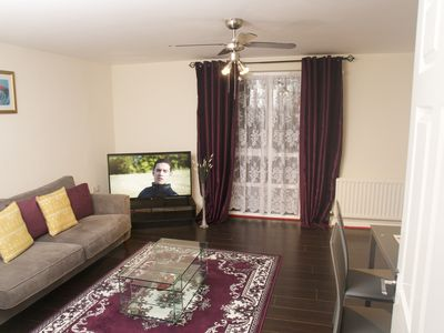 Photo for Cosy Place Sleeps 4, close to Excel ,02 ,Canary Wharf, Westfield,City Airport