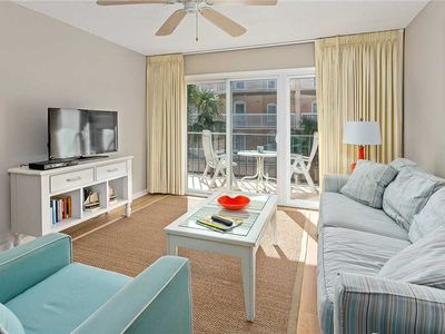 Photo for Oceanfront Condominium in the Golden Isles!  Pool, Beach Access, Fitness Center, Tennis!