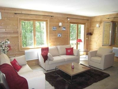 Photo for Luxury 80 sqm 3 bedroom Ski / summer apartment in centre of village