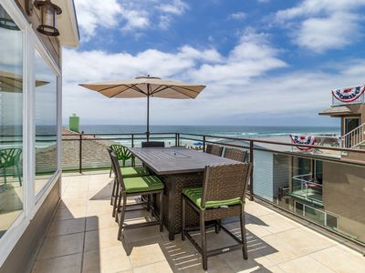 #709-711 - Ocean view retreat w/ stunning 360 degree views, 25 steps to beach