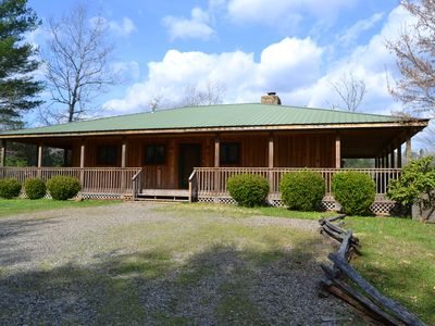 Photo for Little Tennessee River Cabin - in the Smoky Mountains