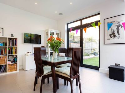 Photo for Friendly 4 bedroom family home in West London, with outdoor space (Veeve)