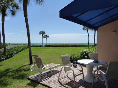 Photo for GULF FRONT CONDO WITH PRIVATE PATIO