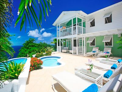 Photo for Saline Reef - luxury 3 bedrooms serviced villa - Travel Keys