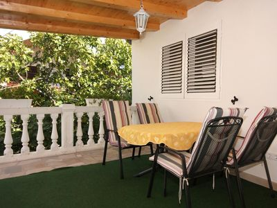 Photo for Two bedroom apartment with terrace Vodice