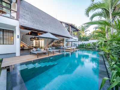 Photo for Contemporary Private Villa, 4 BR, Canggu, MONTHLY RENTAL 40 JT (BIG PROMO)