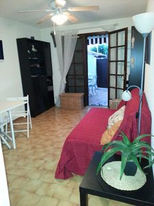 Photo for charming ground floor apartment for 4 people with garden
