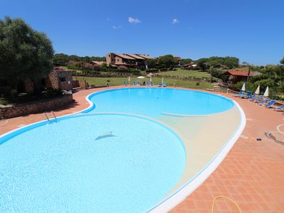 Photo for First floor pool apartment with terrace private parking space