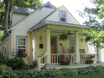 Photo for The Enchanted Cottage: A Charming Artists Retreat, Walk To Rhinebeck Village!