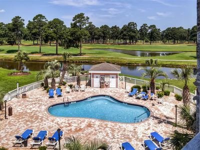 Photo for Peaceful Myrtle Beach Resort Condo on Golf Course!