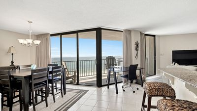 Photo for BEACHRONT 2BR/2BA Sparkling 7th Fl Condo with Amazing Views & FREE BEACH CHAIRS