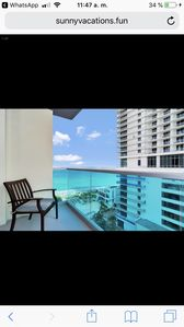 Photo for Great view, great location, right on the beach.Cozy and fresh