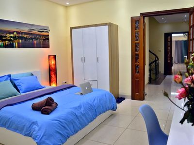 Photo for Spacious King bed room, private bath near Hanoi Opera House