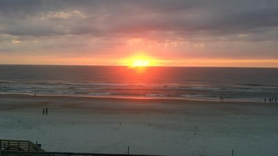 Photo for Ocean Front Balcony - Janie's Place at Harbour Beach Resort 7th floor sunrise 😎