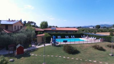 Photo for Two-room apartment with pool at Km 04 from Assisi