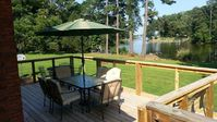 Well maintained water-front house