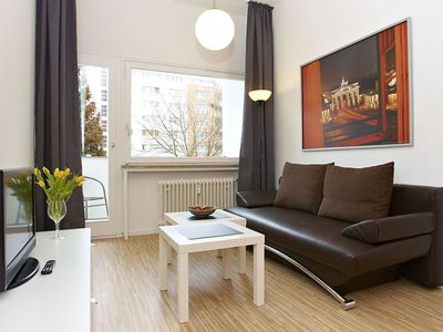 Photo for Wilhelm Friends apartment in Kreuzberg with WiFi & balcony.
