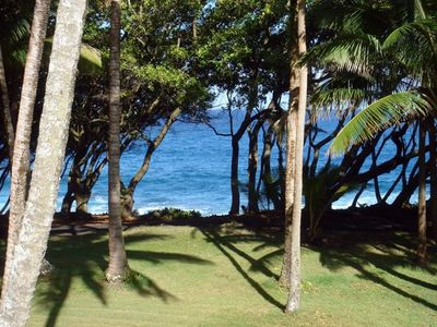 Photo for Oceanfront Cottage in Scenic 'Old Hawaii' , the Original Rainbow Dreams Cottage