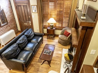 Photo for Beautiful Home in DuPont Circle with 2 decks, parking, walk to metro