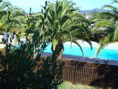 Photo for 5 kms from calvi, in the maquis, residence le Padro, calm, green spaces swimming pool