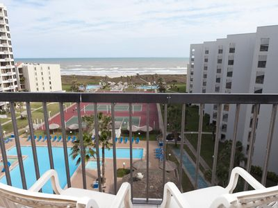 Photo for Saida III 802 - Elegant 1 Bedroom Condo with Private Balcony, 8th Floor Ocean View, 3 Pools, Tennis, 3 Hot Tubs and More
