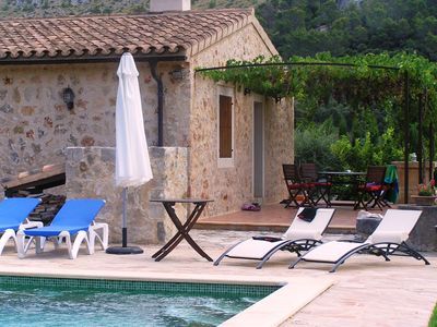 Photo for Villa with Pool for 4/5 People between Pollensa and Cala Sant Vicente