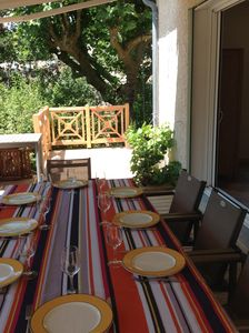 Photo for Large Provencal house north of the Luberon, on 1500 m2 of land