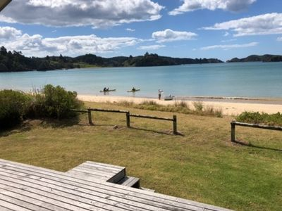 Photo for Absolute Beach Front Te Ngaere Bay Northland