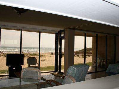 Photo for Beachfront Ground Floor - Steps to Beach with Unbelievable Views!!!