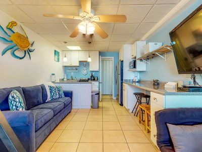 Photo for NEW LISTING! Updated waterfront studio w/ fantastic views