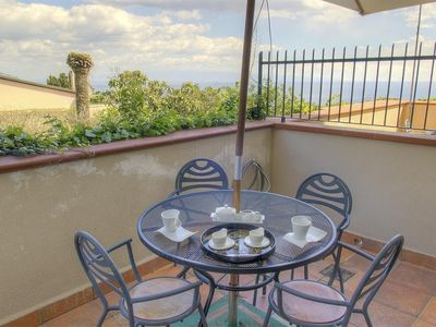 Photo for Apartment in the center of Taormina with Internet, Air conditioning, Terrace, Washing machine (446713)