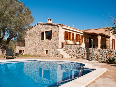 Photo for New house with pool and beautiful views in Arta