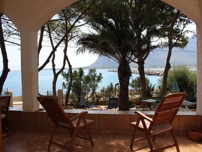 Photo for Villa for rent in a marvellous position in San Vito Lo Capo Gulf