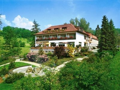 """Photo for Double room with balcony - Odenwald star hotel """"Wiesengrund"""""""