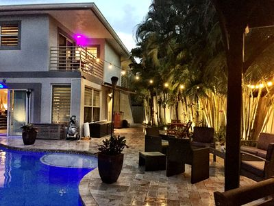 Photo for Gay Mens Private Pool Home, Close To Wilton Manors.