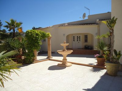 Photo for CASA ZOMER * LUXURY 5 BEDS PRIVATE POOL* GOLF * BEACH