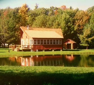 Photo for Grey's Getaway Cabin Finger Lake region N.Y., pet friendly  close to winerieries