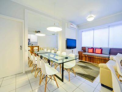 Photo for SUITABLE FOR SANTOS POSTO 6, 100 METERS FROM THE BEACH / SHOPPING, ONLY FOR NON SMOKING
