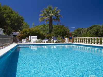 Photo for Torre-Villa - Ciutadella Holiday Villa with Gated Private Pool (total 10acres)
