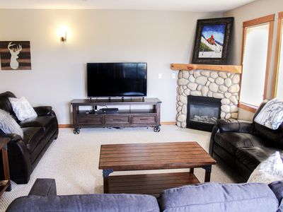 Photo for Perfectly Located 3 BR 2 BA Corner Suite in Downtown Canmore - sleeps 8