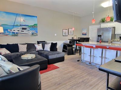 Photo for All New & just steps Off the Beach w/a Game Room and Beautiful Furnishings!