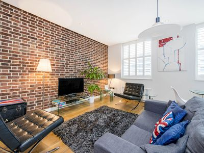 Photo for This modern loft flat is in the center of Covent Garden's theaters