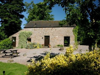 Photo for 5* STUNNING LUXURIOUS BEAMED COTTAGE - SECLUDED PEACEFUL PEAK DISTRICT LOCATION