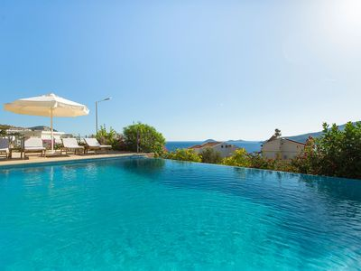 Photo for Large Luxury Villa with Private Heated Pool, Roof Terrace Bar,