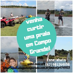 Photo for Beach in Campo Grande. Spend the day as if you were on a beach.