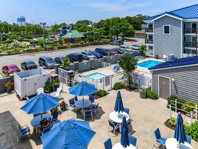 Photo for Beautiful 1 Bedroom Ocean City Condo with Outdoor Pool in Orleans Court!