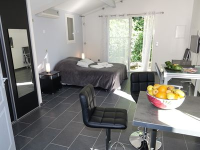 Photo for COMPLETE ACCOMMODATION with GARDEN LIVING ROOM and PARKING Free